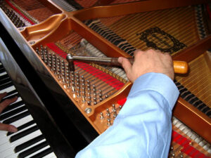 The piano is the most complex musical instrument ever made—maintaining its value requires the skill of a qualified technician.