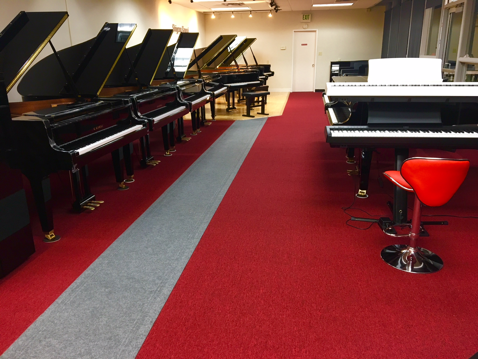 Our annual piano sale in progress