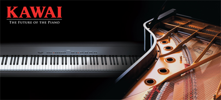 Kawai Pianos exclusive piano manufacturer in Japan